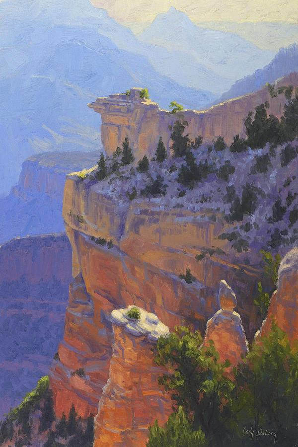 Cody Delong Painting - Early Morning Light by Cody DeLong
