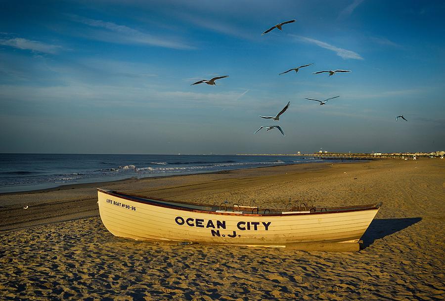 Early Morning Ocean City Nj Photograph