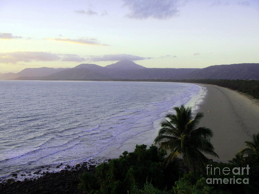 Landscape Photograph - Early Morning On Four Mile Beach by Maria Pogoda