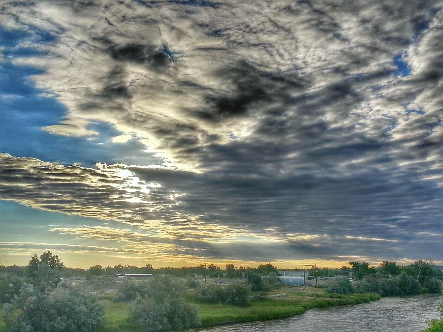 Casper Photograph - Early Morning Over The North Platte by Chris Short