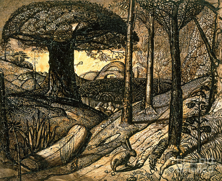 Early Drawing - Early Morning by Samuel Palmer