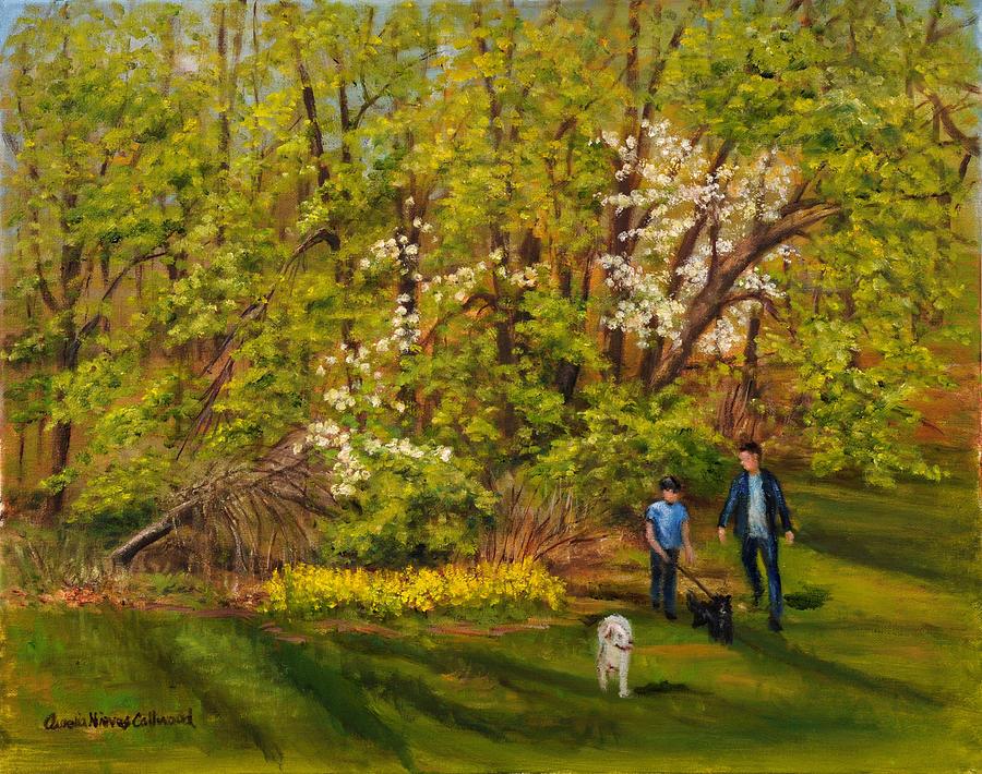 Early Spring by Aurelia Nieves-Callwood