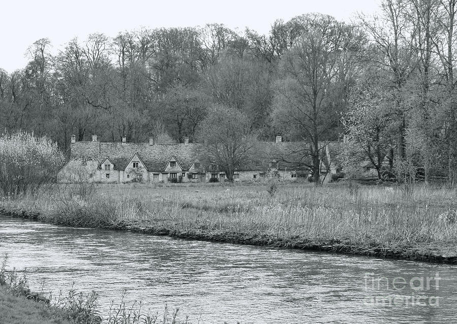 Early Spring in England Black and White by Jasna Buncic