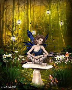 Faeries Digital Art - Early Spring by Loretta Ruch