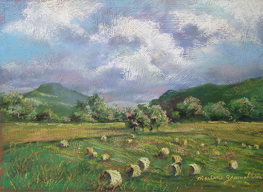 Pastel Painting - Early Summer Cutting by Marlene Gremillion