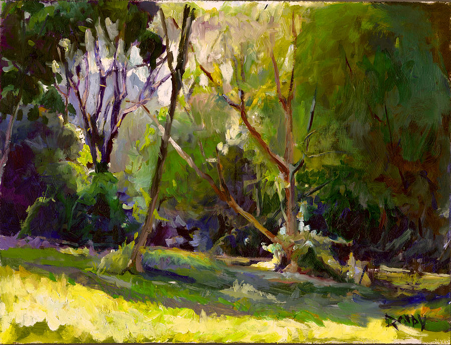 Landscape Painting - Early Summer Morning  by Stuart Roddy