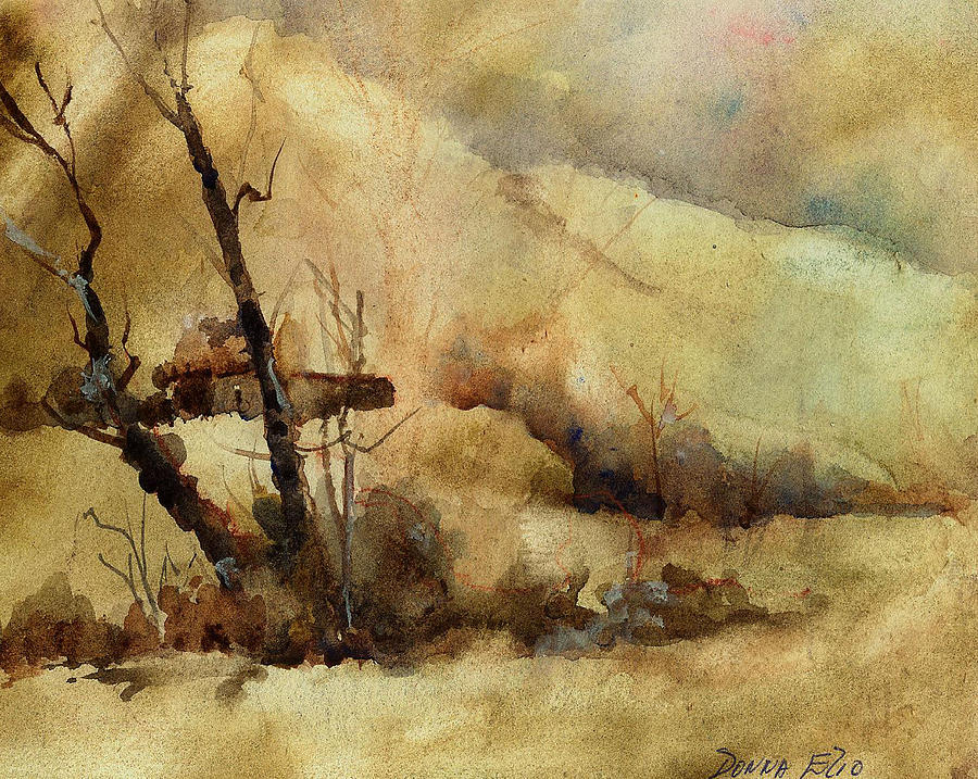 Early Winter Print by Donna Elio
