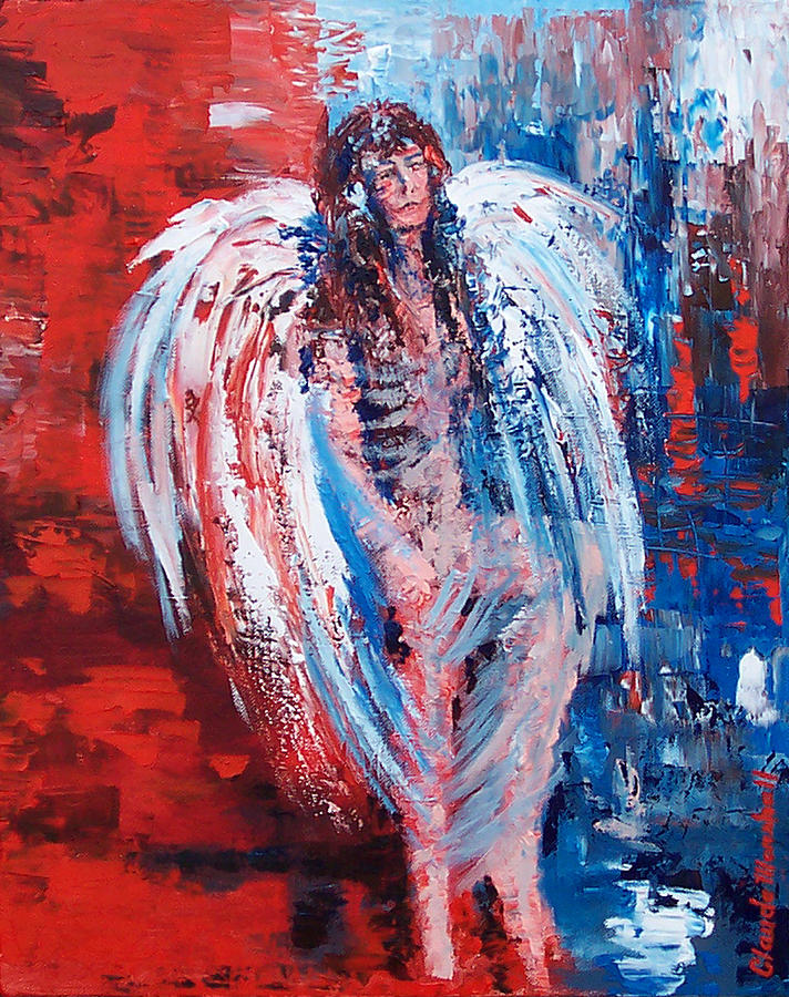 Painting Painting - Earth Angel by Claude Marshall