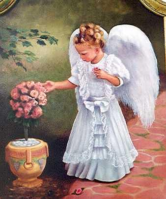 Earth Angel Painting by Ruth Ann Sturgill