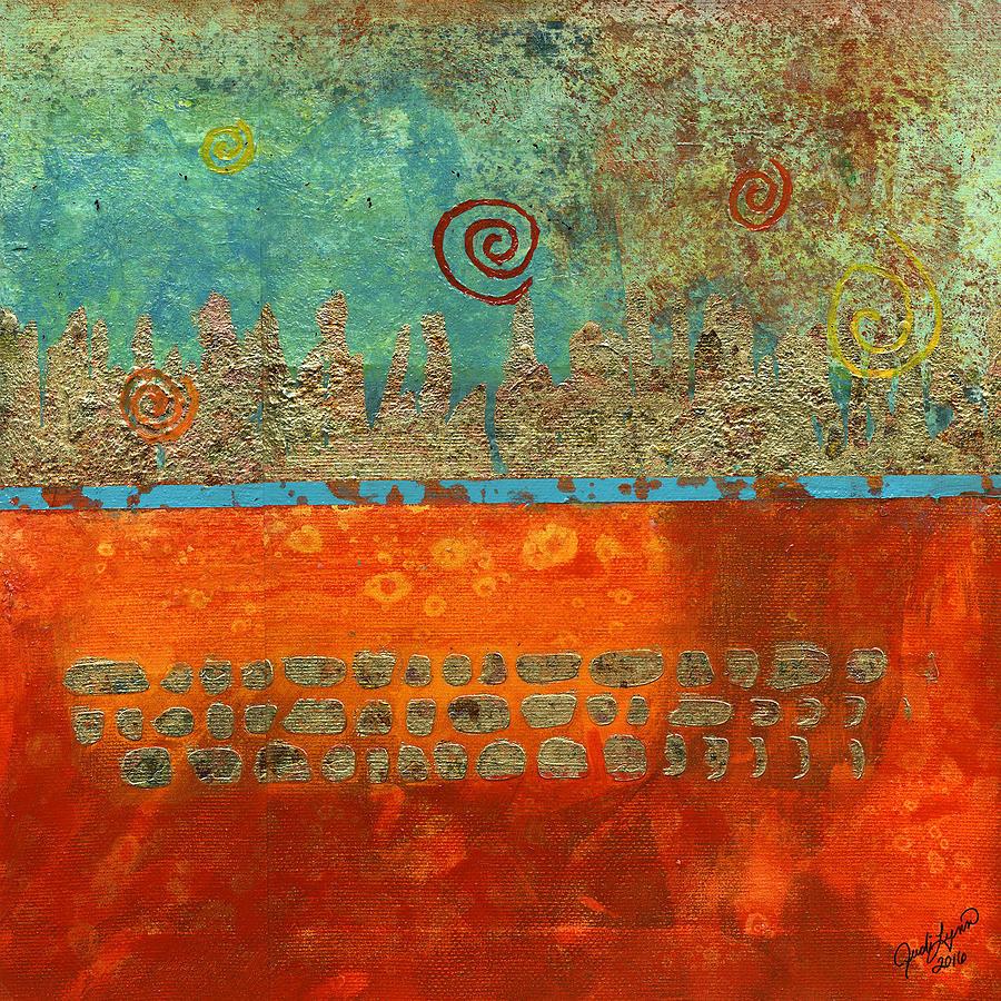 Earth Below by The Art Of JudiLynn
