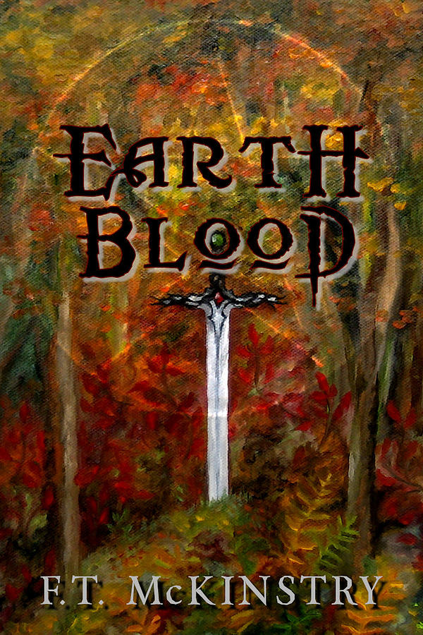 Earth Blood Cover Art by FT McKinstry