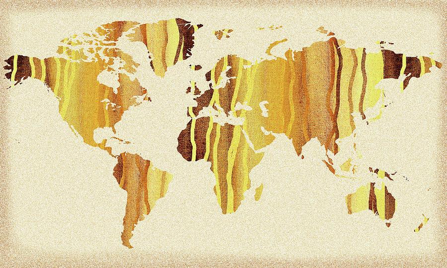 Earth Canvas Watercolor World Map by Irina Sztukowski on three-dimensional world map, vintage world map, painting world map, jewelry world map, silver world map, unique world map, sepia world map, artistic world map, illustration world map, colorful world map, flowers world map, creative world map, miniature world map, doodle world map, transparent world map, nature world map, old world map, cute world map, blank world map, abstract world map,
