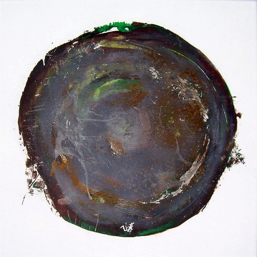 Earth Painting - Earth  by Rev Christopher Scott DD