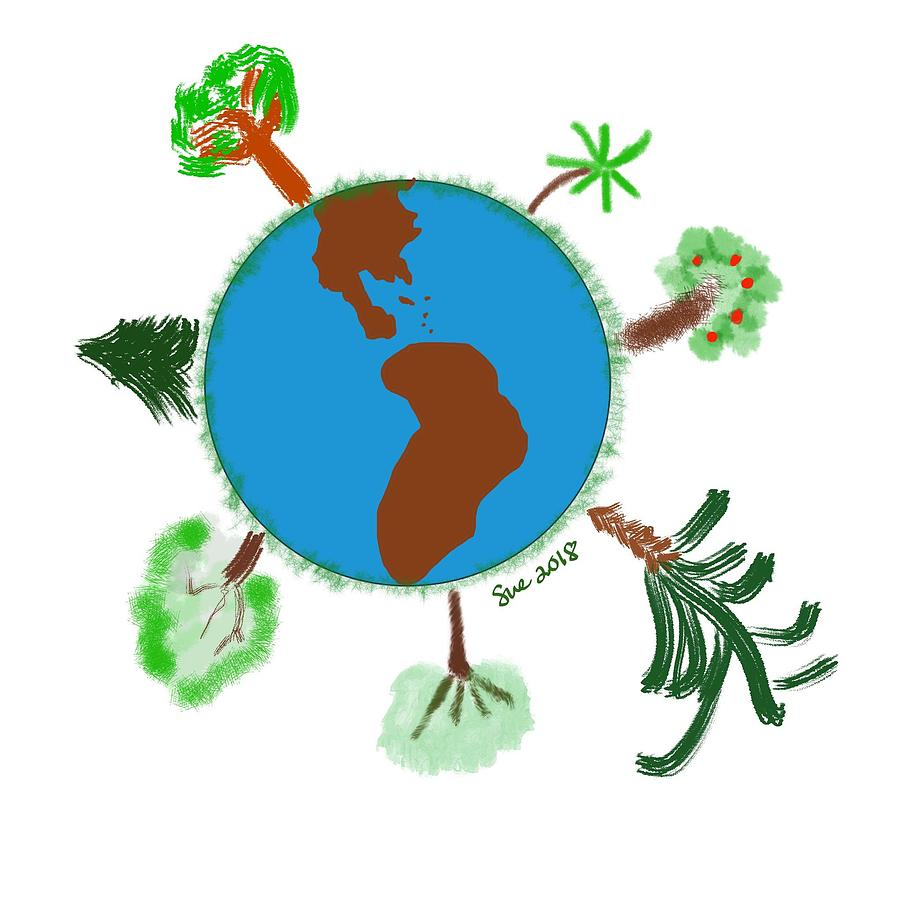 Earth Day By Susan Pellegrino