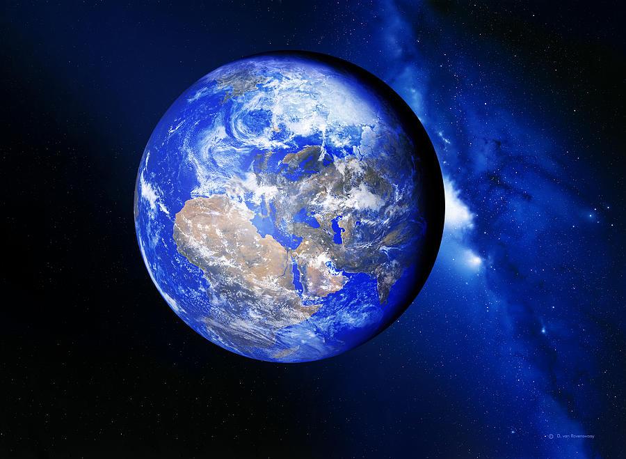 Earth Photograph - Earth by Detlev Van Ravenswaay