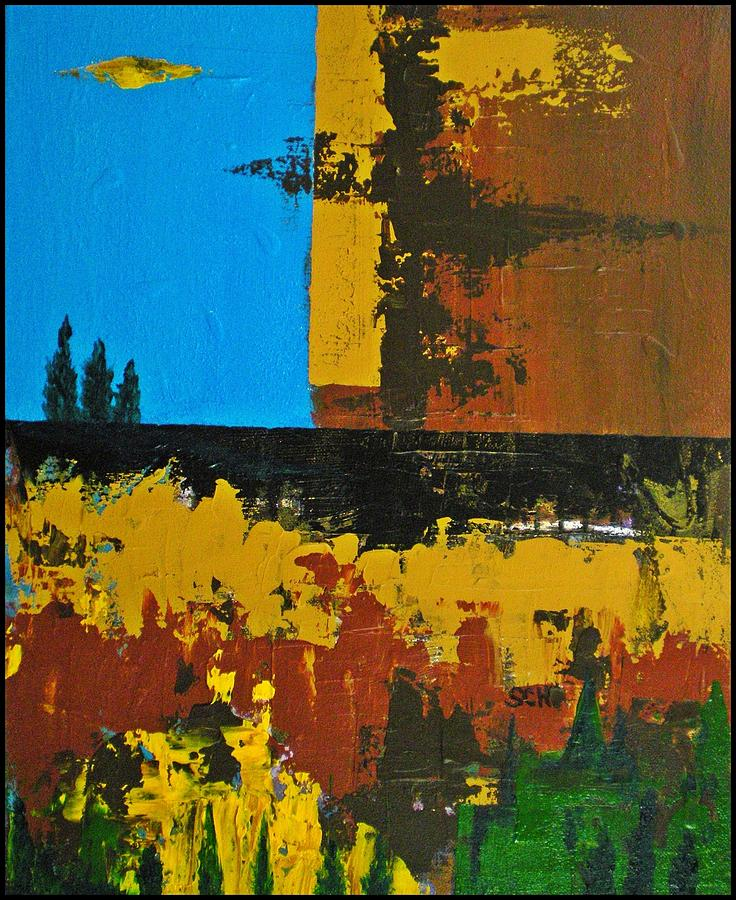 Abstract Painting - Earth Number Twelve by Scott Haley