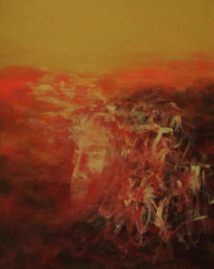 Spirit Painting - Earth Spirit by Ellen Eschwege