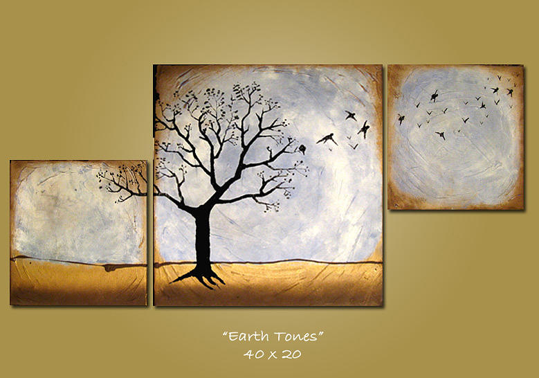 Earth Colors Paint earth tones paintingshanna daley