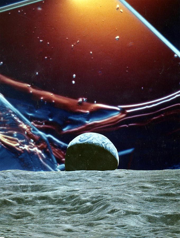 EARTHRISE by Sondra Barrett