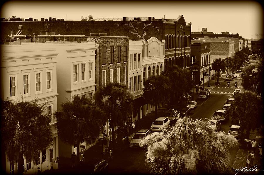 Charleston Photograph - East Bay Street by Melissa Wyatt