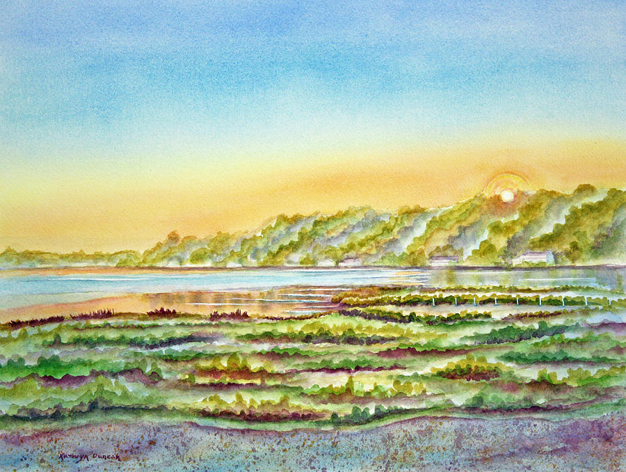 East Bay Sunrise by Kathryn Duncan
