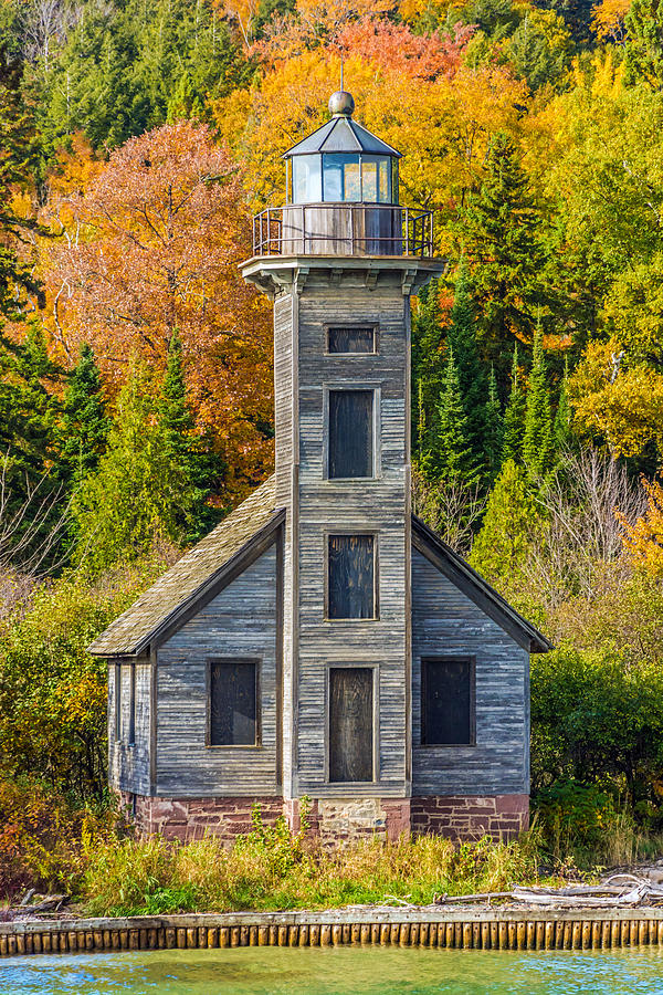 Lighthouse Photograph - East Channel Lighthouse by Lonnie Paulson