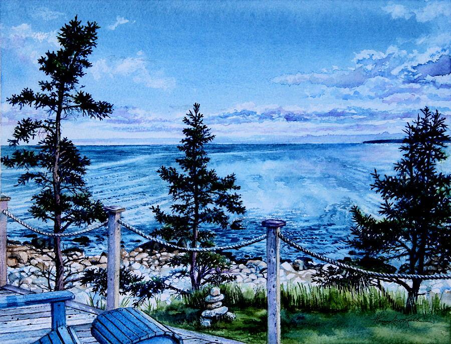 East Coast Ocean View Painting