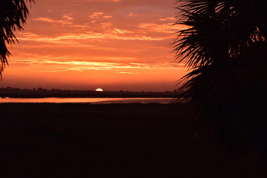 Sunset Photograph - East Looking West by Frank OBrien