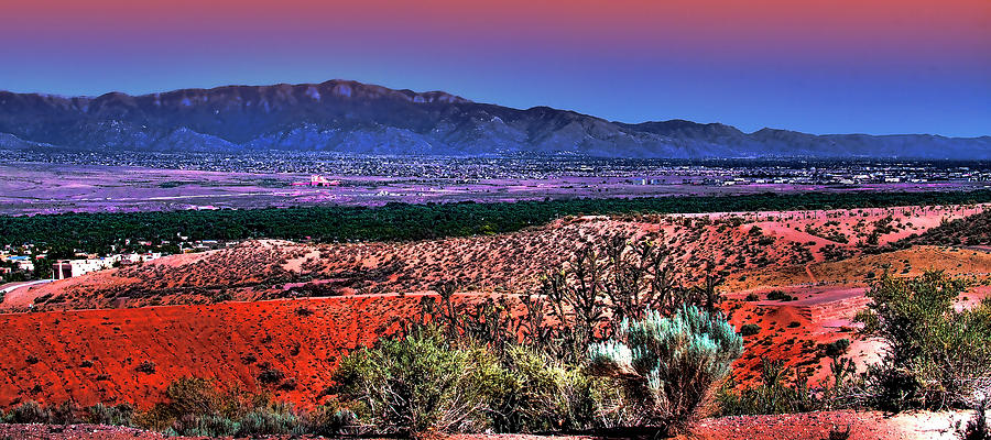 New Mexico Photograph - East Of Albuquerque by David Patterson