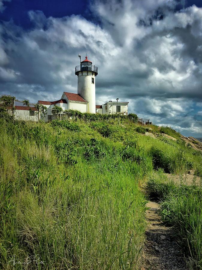 Lighthouse Photograph - East Point Lighthouse by Andrea Platt