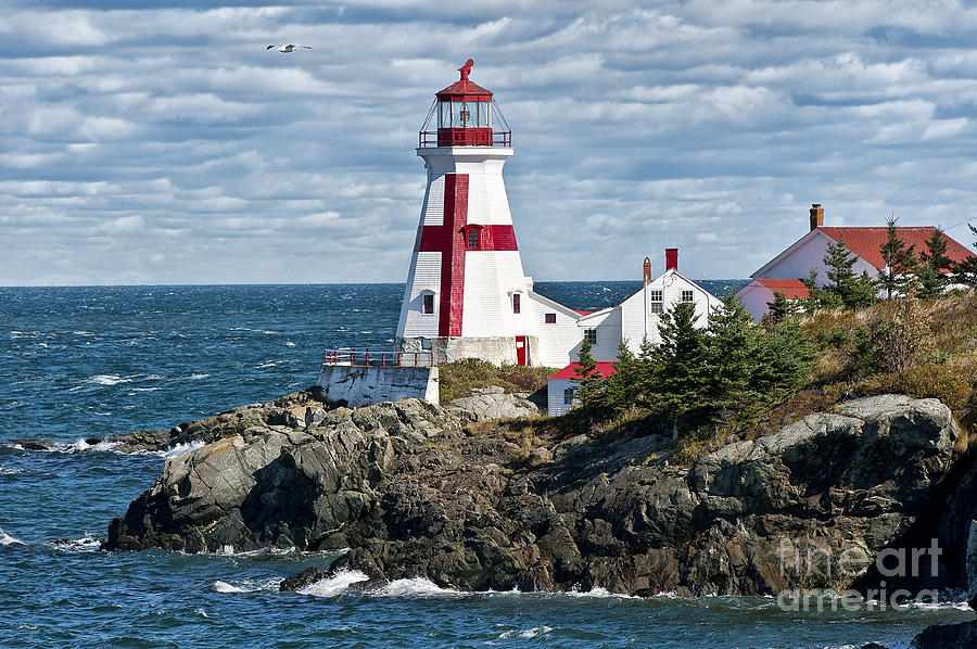 Campobello Island Photograph - East Quoddy Lighthouse by John Greim