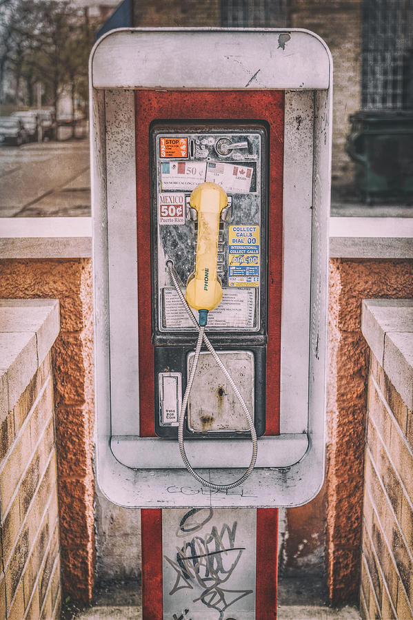 East Side Pay Phone Photograph