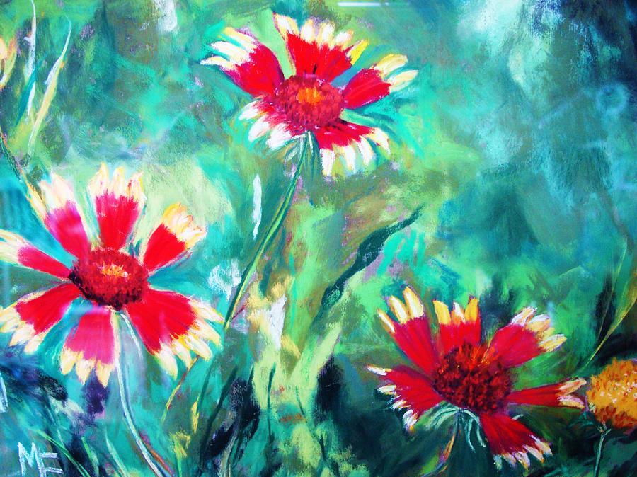 Flowers Painting - East Texas Wild Flowers by Melinda Etzold