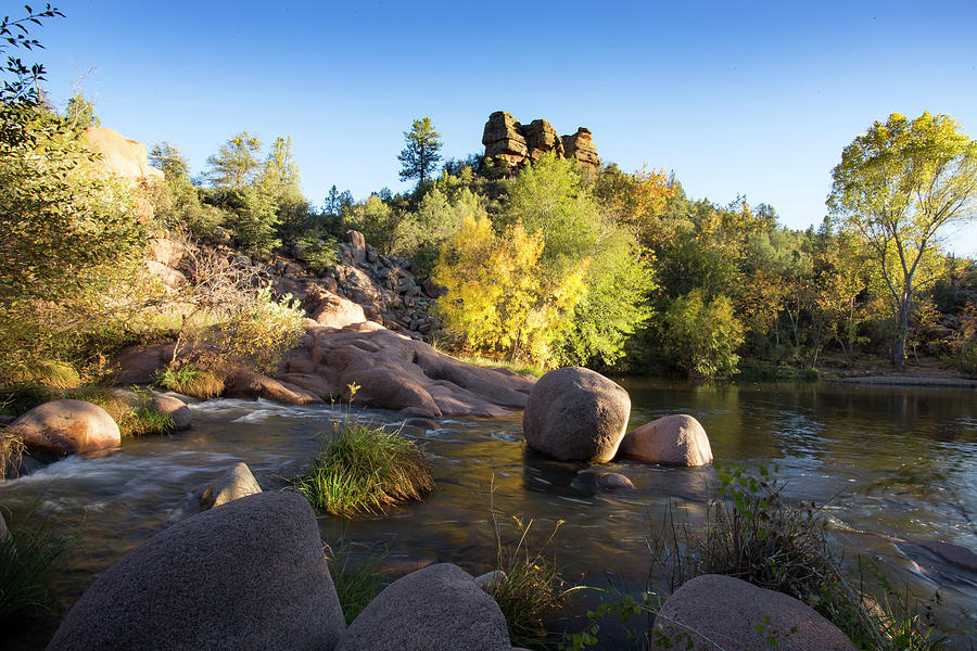 Arizona Photograph - East Verde Revisited by Cathy Franklin