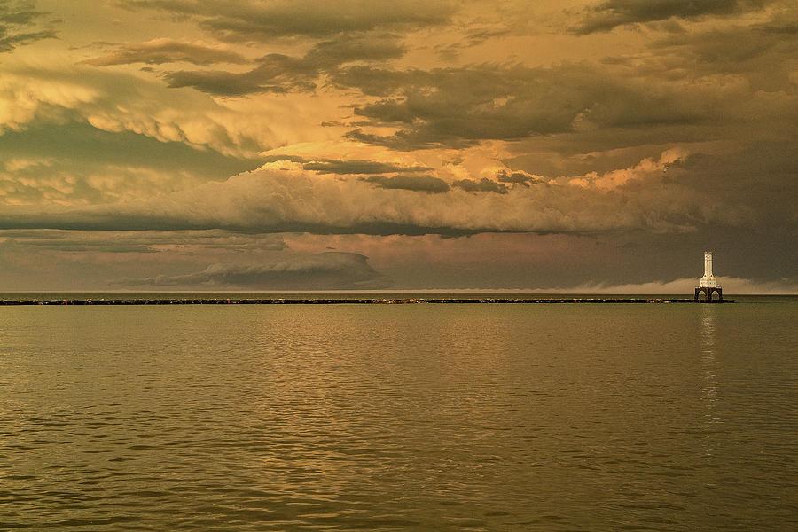 Eastbound Storm Photograph by Jeffrey Ewig