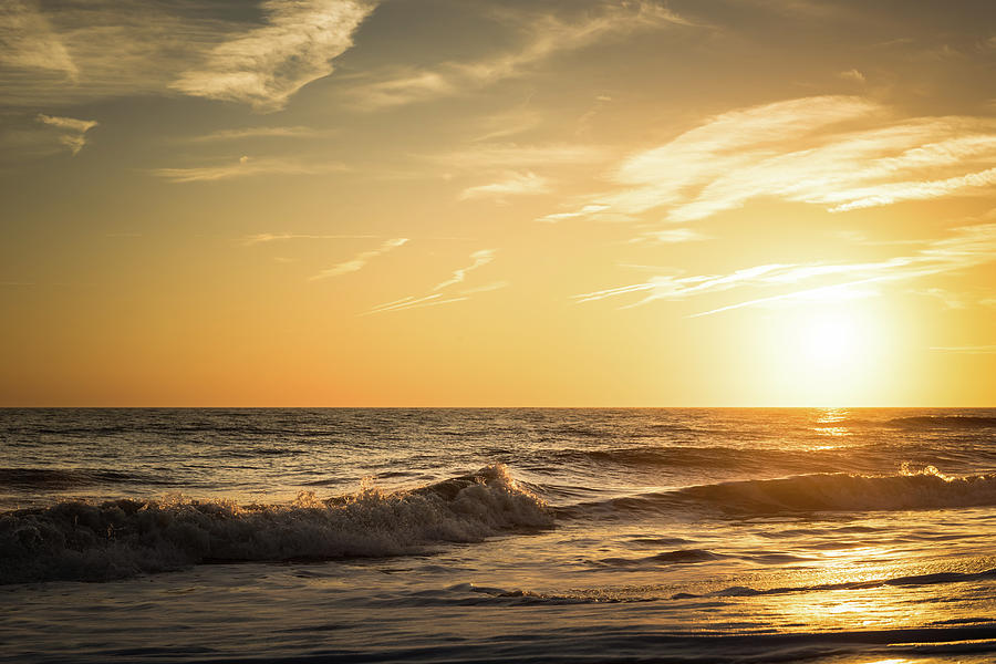 Eastcoast Photograph - Eastcoast Sunset by Ivo Kerssemakers
