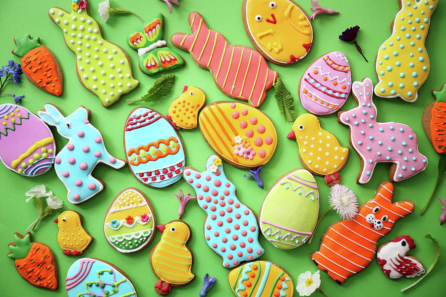 Easter Cookies Photograph