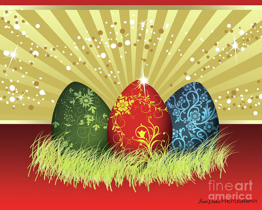 Easter Egg Card by Scott Parker