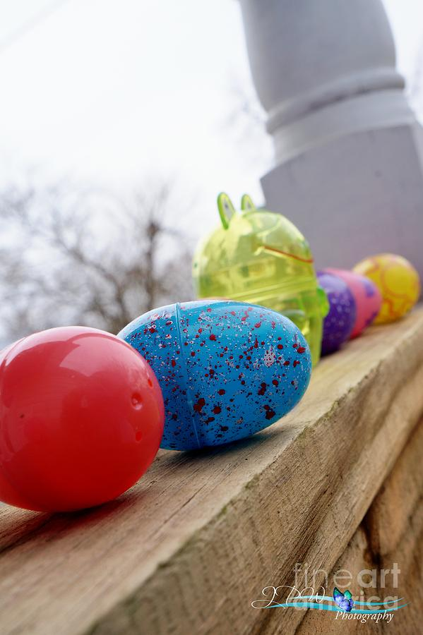 Easter Egg Fun Photograph