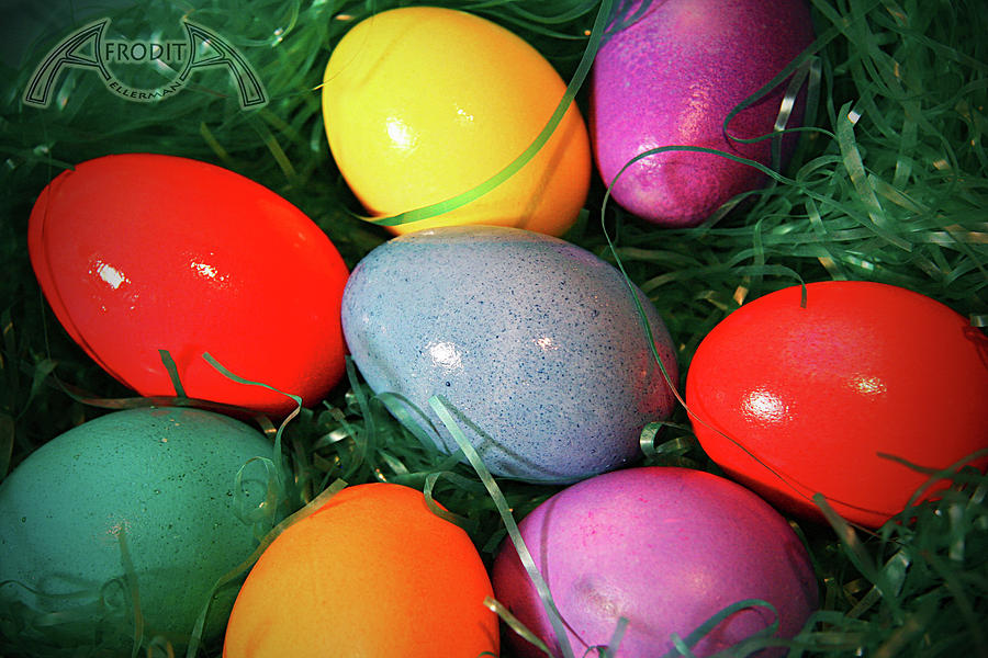 Easter Photograph - Easter Eggs by Afrodita Ellerman
