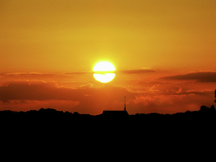 Sunset Photograph - Easter Evening by Adele Moscaritolo