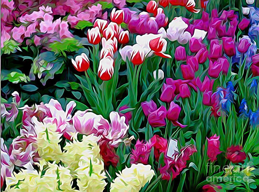 Easter Flower Show At Botanical Gardens Photograph