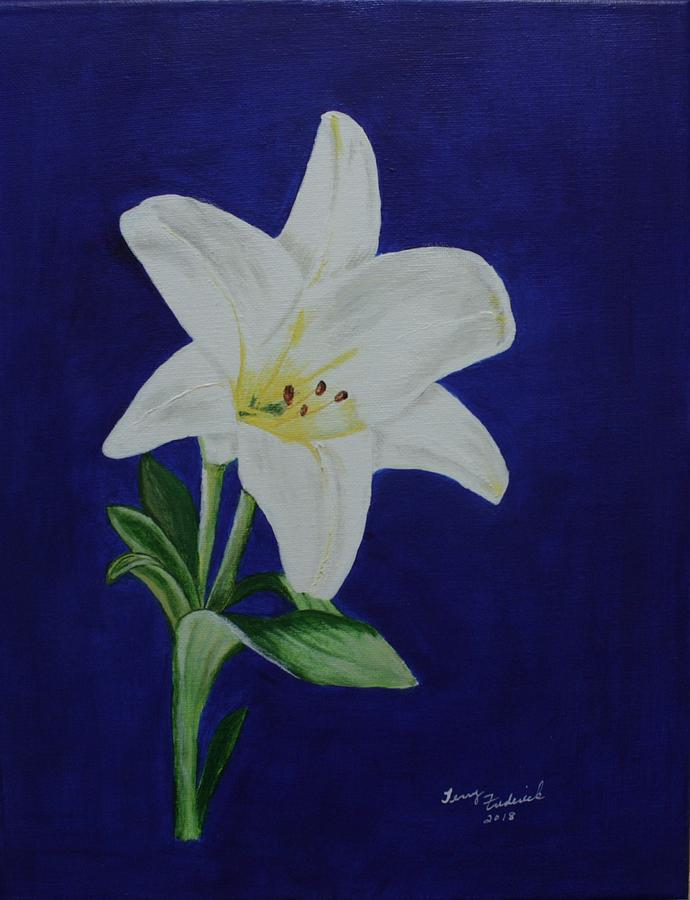 Easter LIly by Terry Frederick