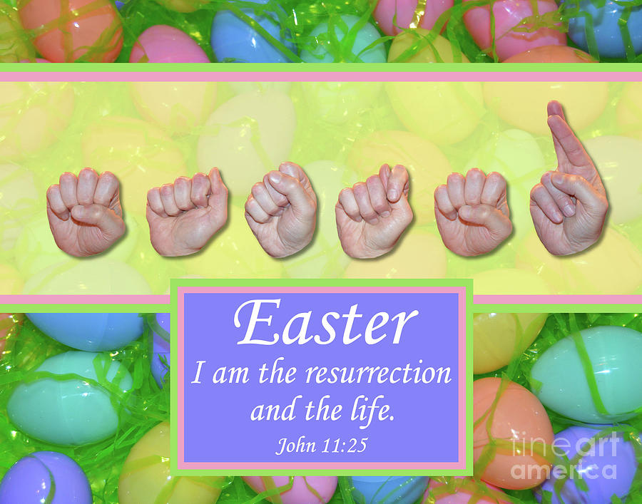 Christian Photograph - Easter by Masters Hand Collection