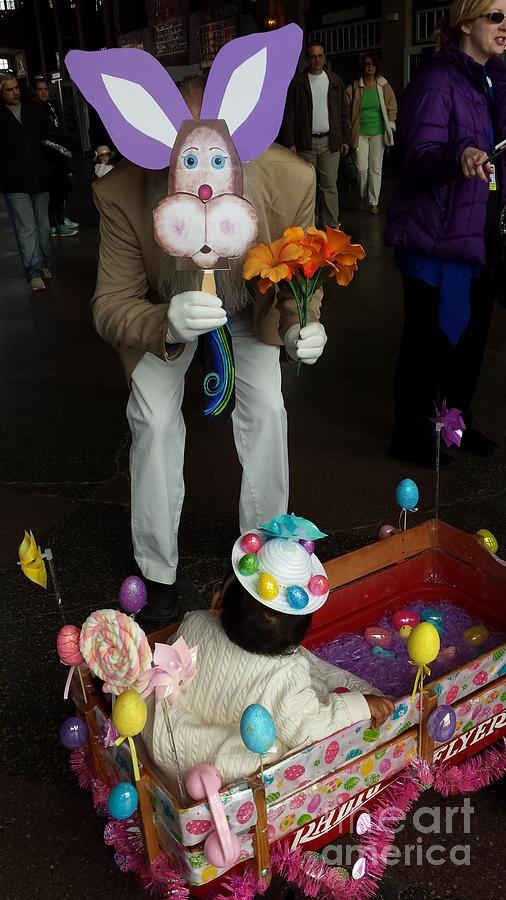 Easter Photograph - Easter Parade Visit by GJ Glorijean