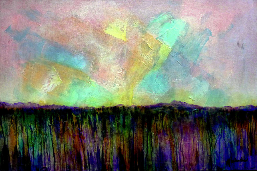 Easter Daybreak - Art By Jim Whalen Painting
