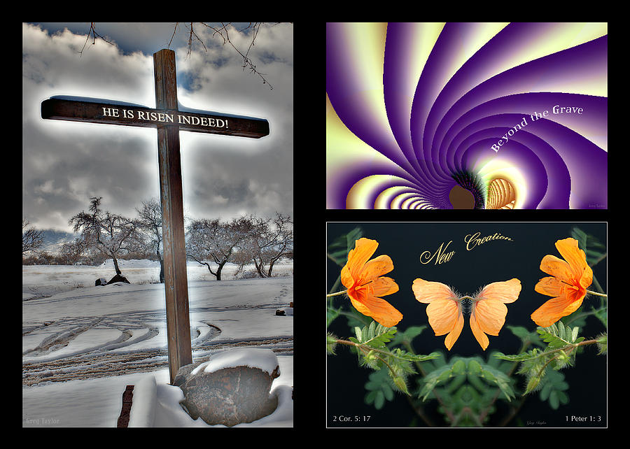 Easter Digital Art - Eastereality by Greg Taylor