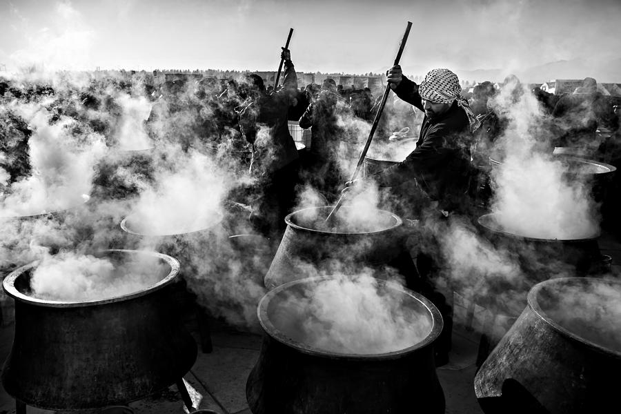 Documentary Photograph - Eastern Lights by Mohammadreza Momeni
