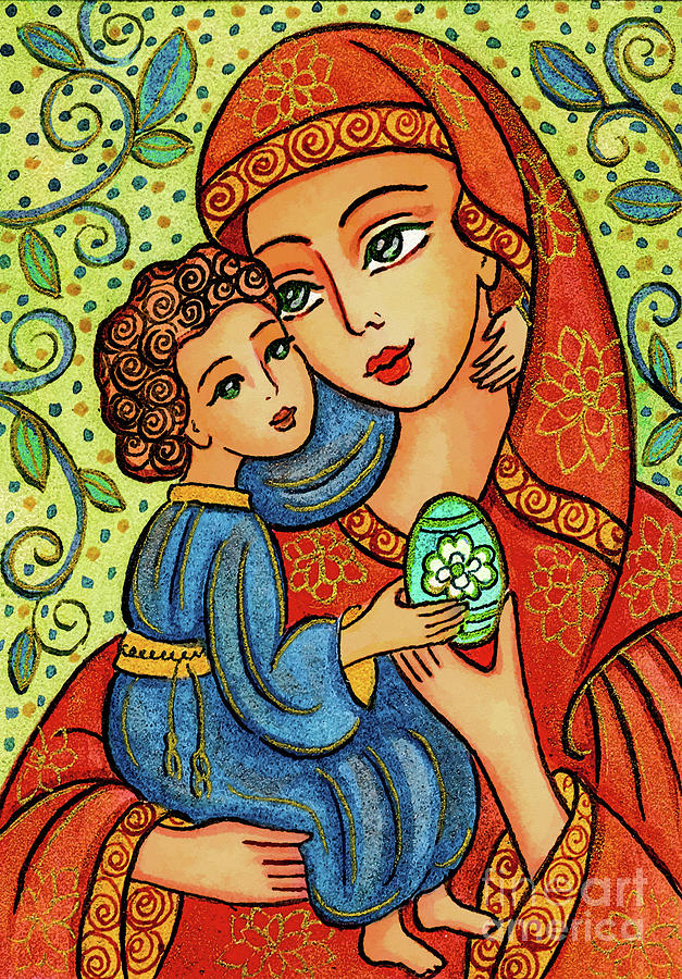 Easter Madonna by Eva Campbell