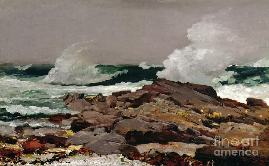 Winslow Homer Painting - Eastern Point by Winslow Homer